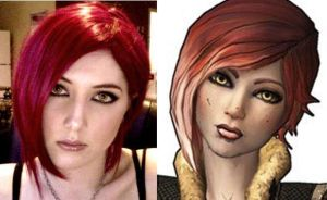 Practicing Lilith's makeup by Tarah-Rex