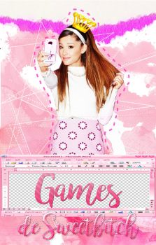 Games de Sweetbitch/Book cover by Designer1994