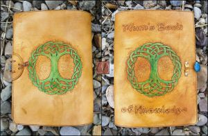 Knotwork Tree of Life Book Cover by Half-Goat