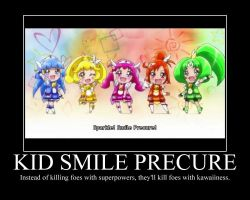 Pretty Cure Motivational Poster 2 by PokeMarioFan14