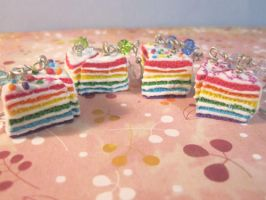 Rainbow Earrings by CandyChick