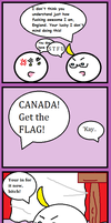The Ameri--Canadian Hero by IHAVETODOWHAT
