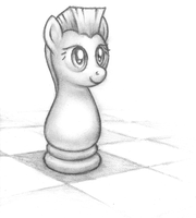 Chess Knight Team Celestia by Viethra-Schepherd