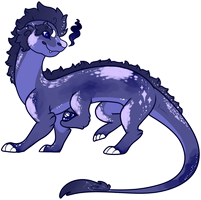Moon Dragon Name Your Price Adopt Closed by guIIs