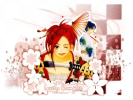 Lovely Complex Wallpaper III by Shika-Bibi