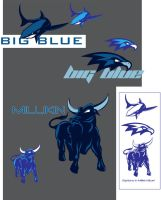 mascots for Millikin by nutson