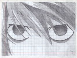 L's eyes by AliZS1