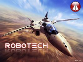 Robotech Valk by shaylor