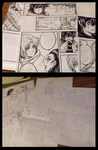 Stranger - chapter two progress sketches by magier