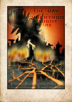 The Day the Cybertron Caught Fire by Clu-art