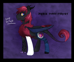 Prince topsy-turvey by Doodleshire