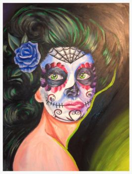 2013 Day Of Dead Girl by AngiePip