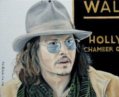 Johnny Depp - April 1st, 2011 by shaman-art