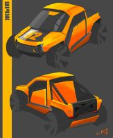 Electro off-road car by LocoAtomo