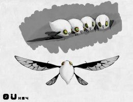 Common White Avib by DCkiq