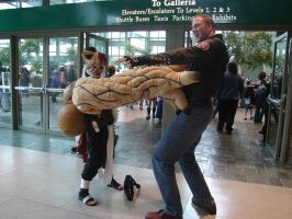 Sakura-Con '08 - EPIC BATTLE by Bishonenrockmysocks