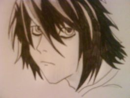 Death Note L by 3nViixx