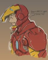 IRON MAN Sketch by Dazz69