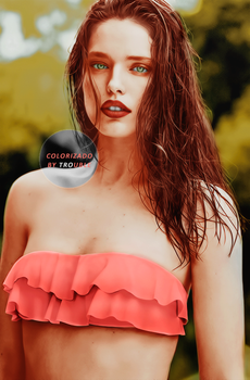 Colorization Emily by DarkRainbowIllusion