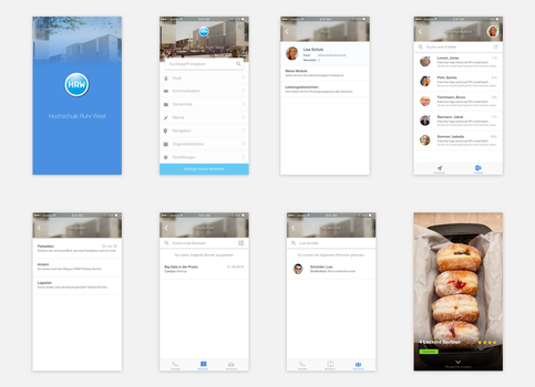 HRW App - University by AdnanDesign