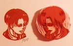 Smiling Levi Stamp by CutiePoppers