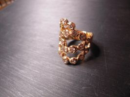 diamonds bubble ring by Debals