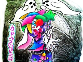 g g h o s t GHOST by yukidogzombie