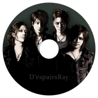 D'espairsRay - CD design by Rose333