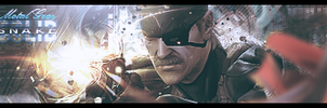 Sign : Solid Snake by chouk57