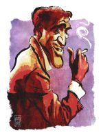 Sammy Davis Jr by wooden-horse