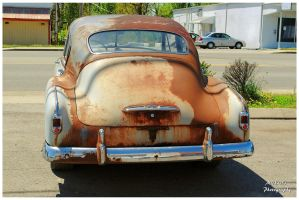 A Rusty Chevy - Rearview by TheMan268