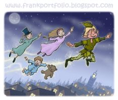 Peter Pan- FrankIllustrations by childrensillustrator