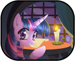 Animu Twilight Sparkle by NabbieKitty