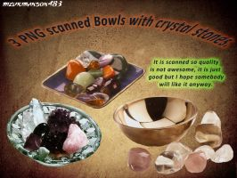Bowl png with minerals by MizukiManson483