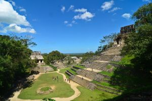 Palenque Landscape by LLukeBE