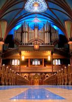 Notre-Dame Pipe Organ by shadeofmelon