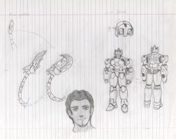 Gigas designs sketches by MetalGigas