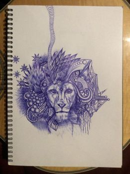 Lion Dreaming by Eccentric17