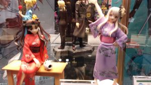 NYCC 2013: Fate Night Stay figures 2 by Kitedot