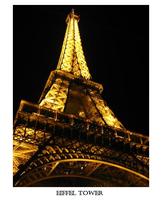 The Eiffel Tower by ImpulsiveCharm