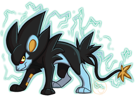 Luxray by tea-tiger