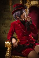 Black butler Ciel Phantomhive by AliceCatcos
