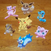 Plastic canvas pokemons by twapa