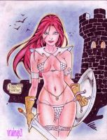 RED SONJA by RODEL MARTIN (11042013) by rodelsm21