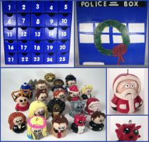 Doctor Who Advent Calendar by sweet-geek