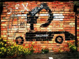 The Recovery Truck by vandalised