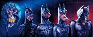 Batman Chronology by AnthonyGeoffroy