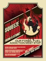"""Blood from a Stone"" Poster by aaronshupp"