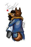 I love you by Lionylioness