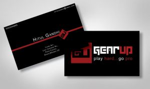 Business Card by paradoxparty